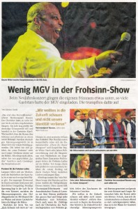 WAZ Heiligenhaus vom 28.01.2014