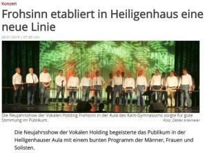 WAZ  Heiligenhaus 26.01.2015
